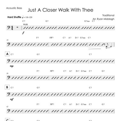 Just a Closer Walk With Thee Chart Thumbnail