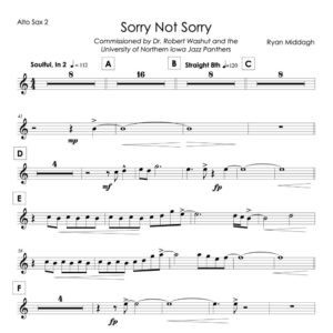 Sorry Not Sorry Chart Thumbnail